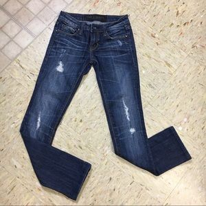 Cult of Individuality Distressed Skinny Jeans 24